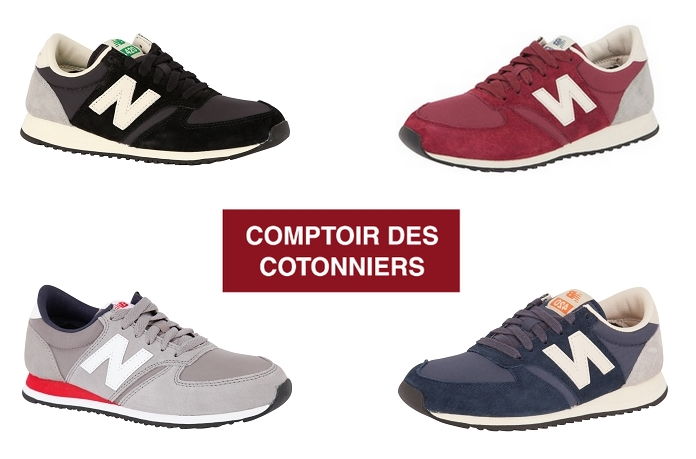 Baskets new balance pour comptoir des cotonniers - New balance comptoir des cotonniers 2014 ...
