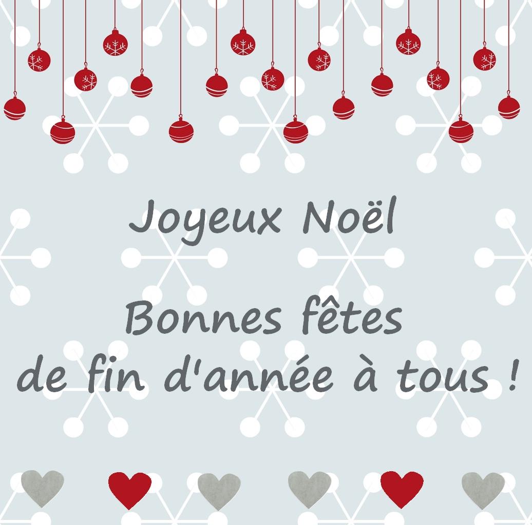 Bonnes vacances et bonnes fêtes à tous !