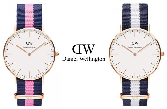 Les jolies montres Daniel Wellington