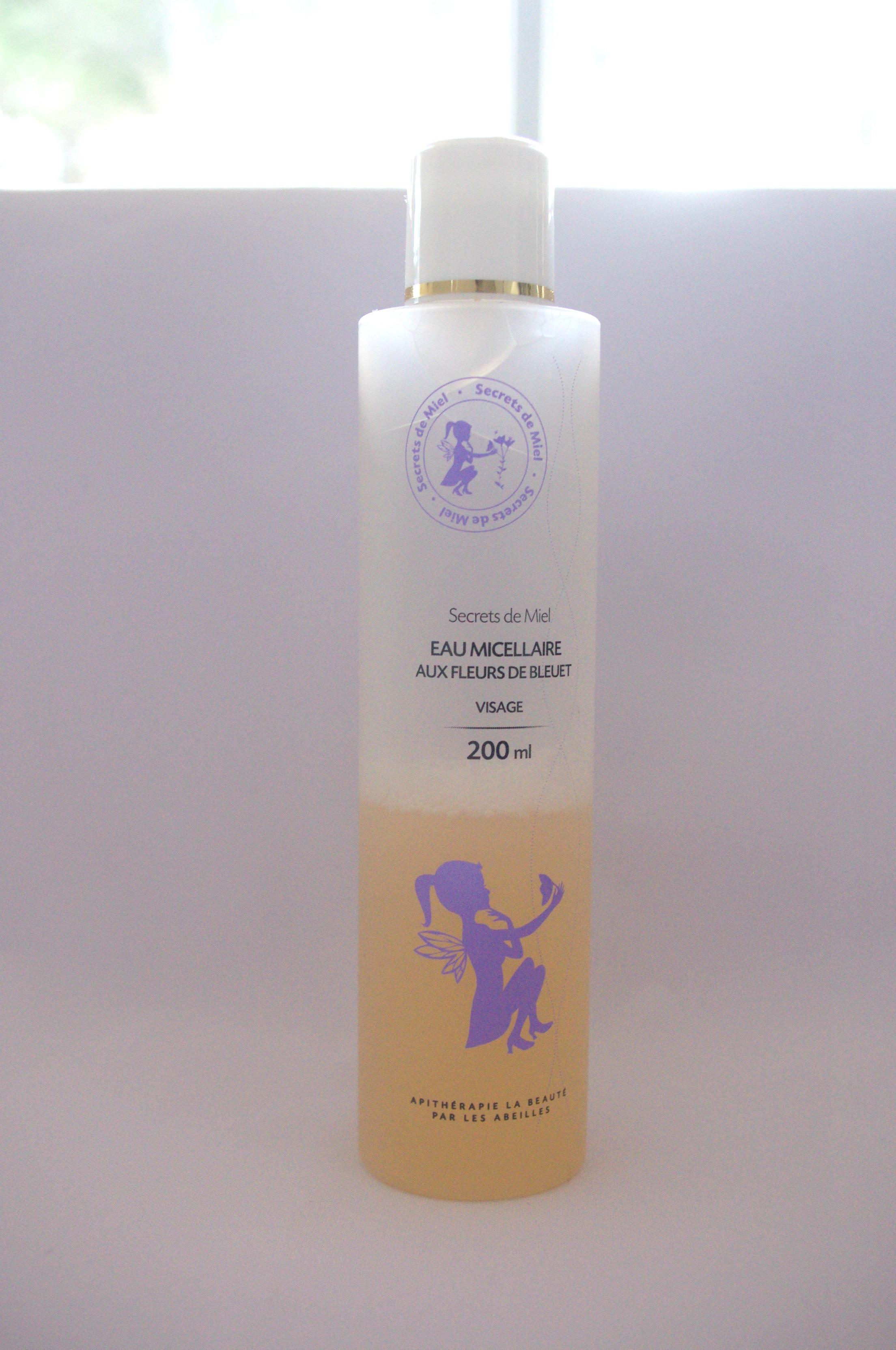 eau micellaire secrets de miel 1
