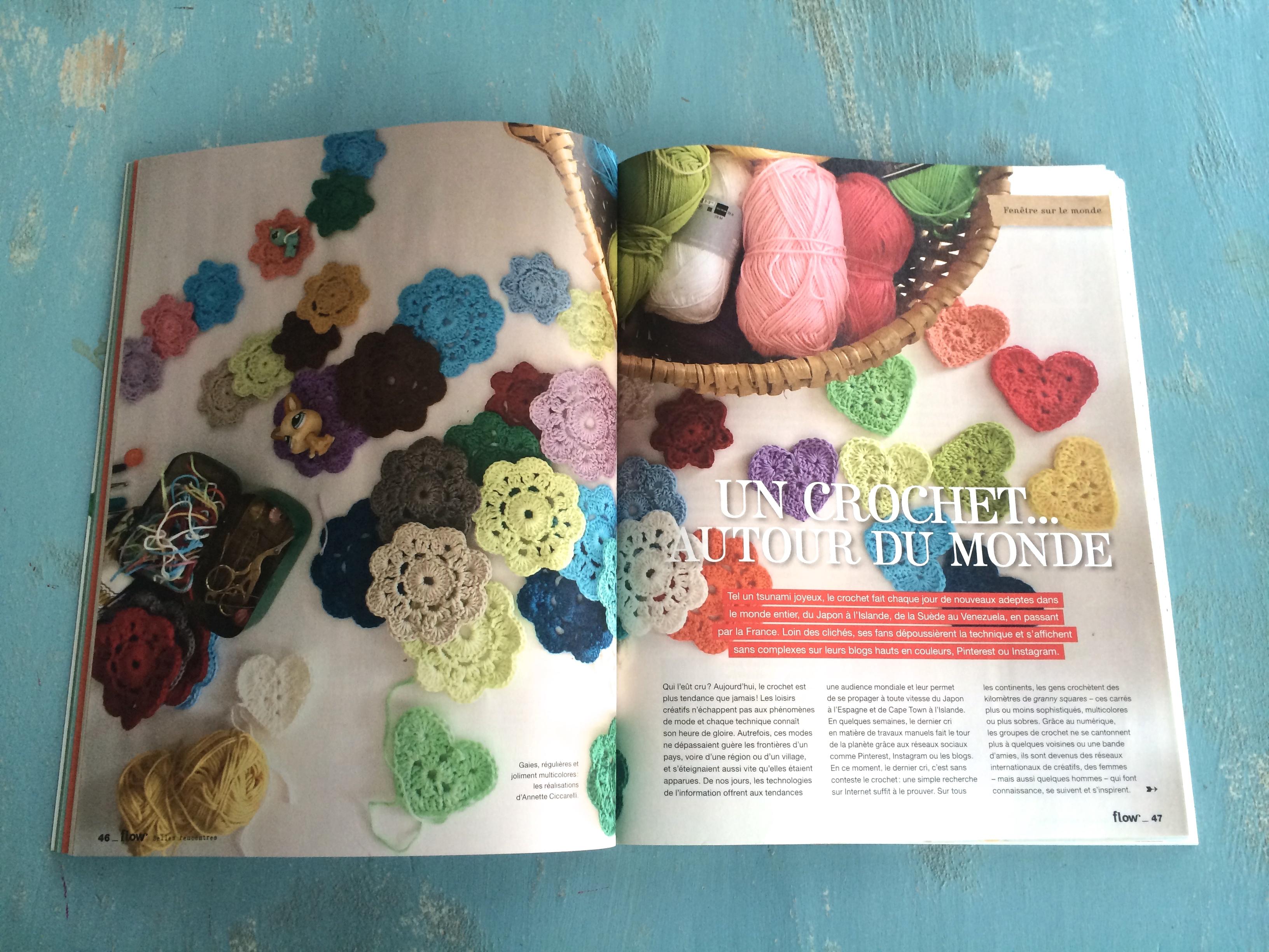 crochet flow